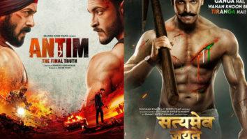Salman Khan starrer Antim – The Final Truth to clash with John Abraham's Satyameva Jayate 2 on November 26