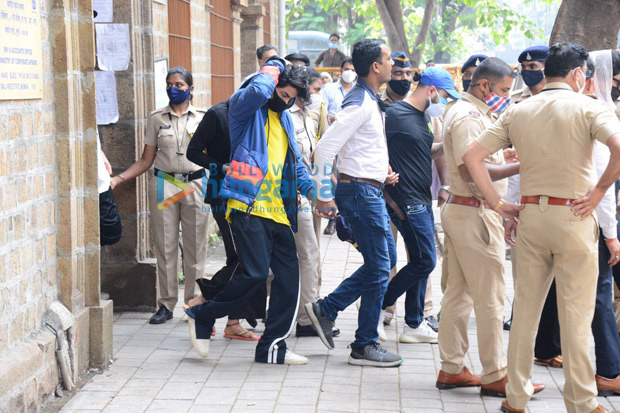 Shah Rukh Khan's son Aryan Khan leaves for medical examination after his arrestin drugs case