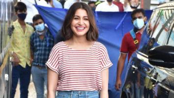 Snapped Anushka Sharma at BKC post shoot