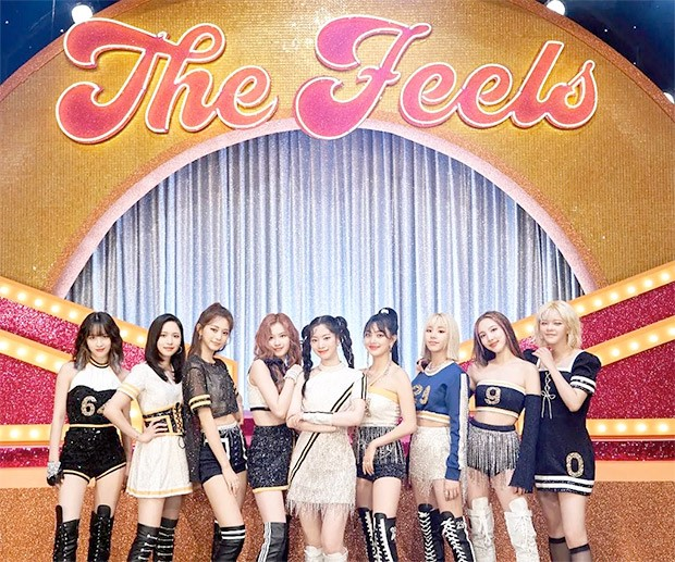 TWICE makes debut on Billboard Hot 100 chart at No. 83 with their first English single 'The Feels'