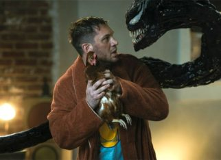 """""""It's a joy to play two different parts of a psyche because Venom and Eddie are one for me""""- Tom Hardy"""