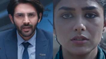 Dhamaka Trailer: Kartik Aaryan gives an intense perfromance as he chases TRP as Arjun Pathak; Mrunal Thakur has an impactful presence
