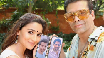 Nine years later Alia Bhatt, Sidharth Malhotra, Varun Dhawan, and Karan Johar engage in some 'Virtual Wala love'