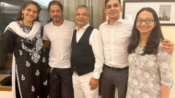Shah Rukh Khan is all smiles after Aryan Khan gets bail as he poses with the legal team that represented his son